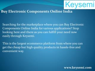 Buy Electronic Components Online India