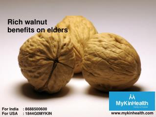 Know the importance of walnuts