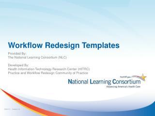 Workflow Redesign Templates