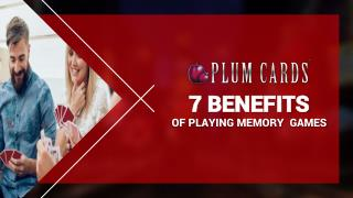 7 Benefits of Playing Memory Games