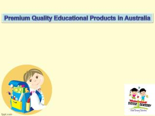 Premium Quality Educational Products in Australia