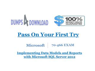 MCSA 70-466 Dumps Free Download - Dumps4Download.com
