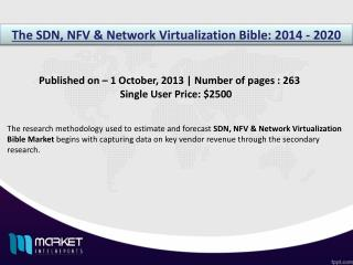 SDN, NFV & Network Virtualization Market: led by North America owing to high infrastructure.