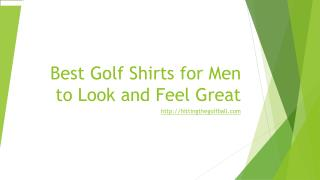 best golf shirts