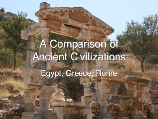 comparison of ancient civilization