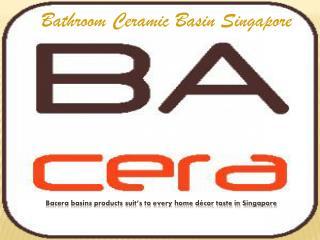 Bathroom Ceramic Basin Singapore