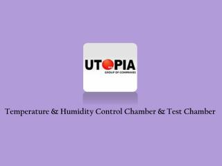 Temperature & Humidity Control Chamber