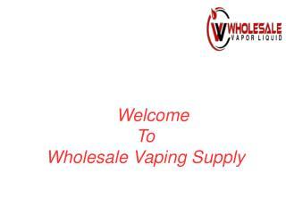 E Liquid Wholesale Usa