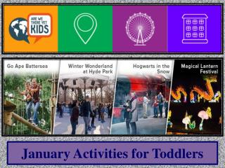 January Activities for Toddlers