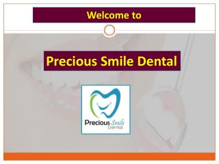 Effective Dental Sealants in Commerce from Precious Smile Dental