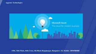 Microsoft Azure in Bangalore, MicrosoftAzure Institute in Bangalore, Microsoft Azure Institutes, Institute, Course, In,
