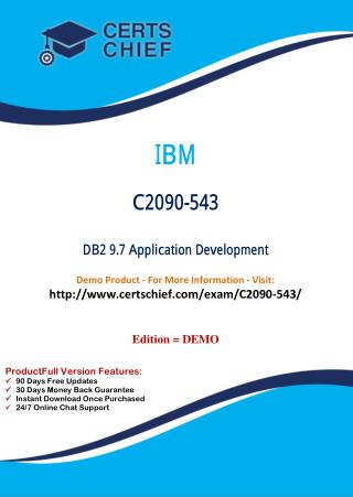 C2090-543 PDF Dumps with Answers