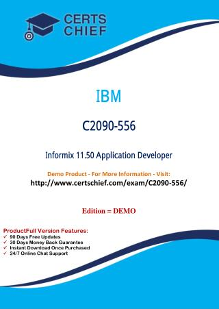C2090-556 PDF Dumps with Answers