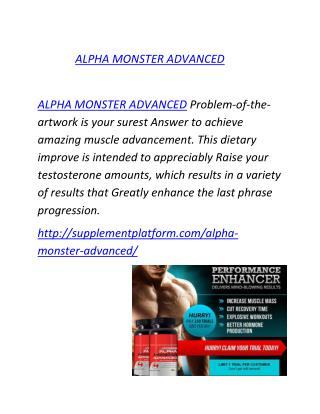 http://supplementplatform.com/alpha-monster-advanced/