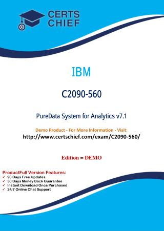 C2090-560 PDF Dumps with Answers