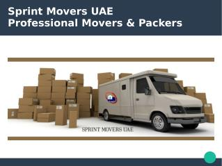 Sprint Movers and Packers in Abu Dhabi and Dubai