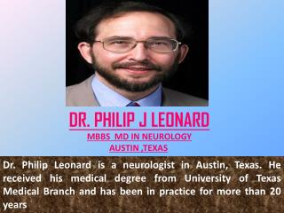 Consult Dr. Philip J Leonard to Know if your child suffering from Epilepsy