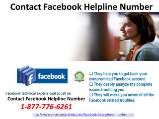 Contact Facebook Helpline Number @1-877-776-6261 Is Now Available For 24 Hours