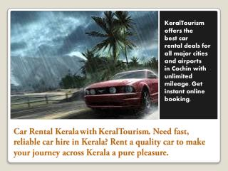 find Kerala Rental Car Deals & Cheap Car Rentals