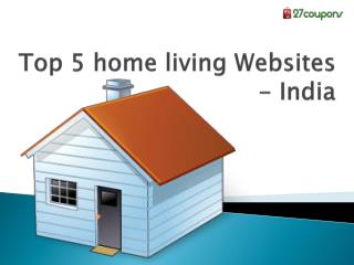 Top 5 home living websites