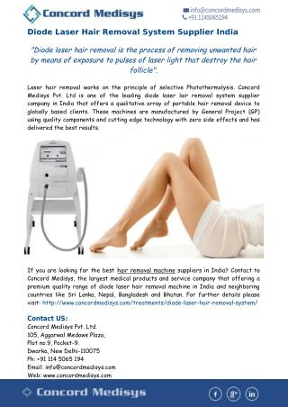 Best Hair Removal Machine in India