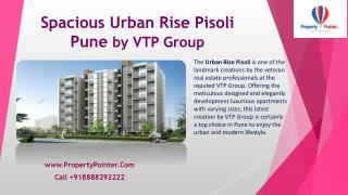 VTP GROUP - URBAN RISE PISOLI- Flats For Sale in Pune