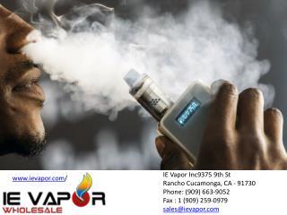 Wholesale Vapor Products | Vaping Supplies, Electronic Cigarettes, E-Liquid