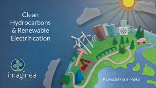 Clean hydrocarbons & renewable electrification & solar energy potential in Southern Alberta