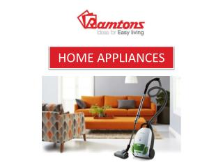 Buy Electrical Home Appliances Online