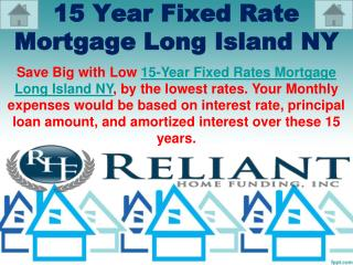 15 Year Fixed Rate Mortgage Long Island NY