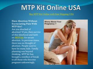 Buy Mtp Kit Online USA With Fast Shipping at Cheap Price USA
