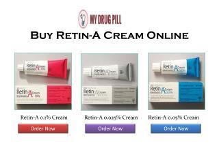 Buy Tretinoin Cream - Retin-A 0.1