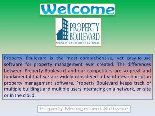 Complete Commercial Property Management Software