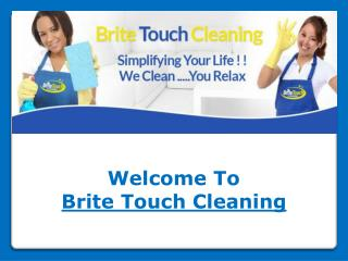 Brite Touch Cleaning Services