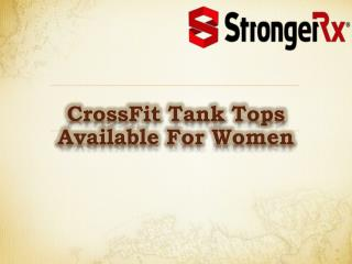 Fitness Wears for Women - About CrossFit Tank Tops
