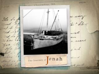Lessons from Jonah