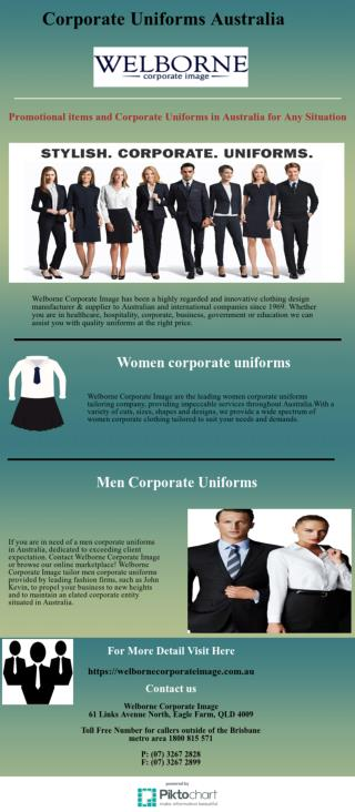Are You Looking for Corporate Uniforms Australia
