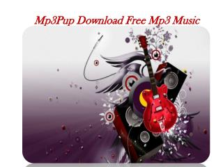Mp3pup Free Mp3 Music