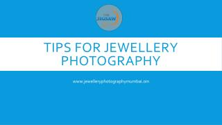 Tips for Jewellery Photography