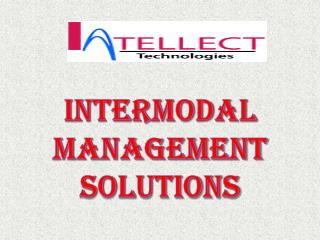 Intermodal Management Solutions
