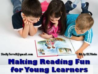 Making Reading fun For Kids