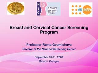Breast and Cervical Cancer Screening Program