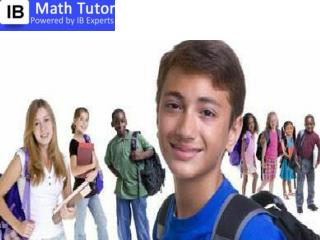 IB Maths Home Tutor in Delhi / Gurgaon @9818369374