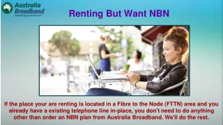 Australia Is Getting Connect to the NBN™