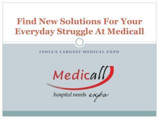Medicall - Hospital Need Expo