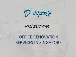 Office Renovation - Desprit Interiors