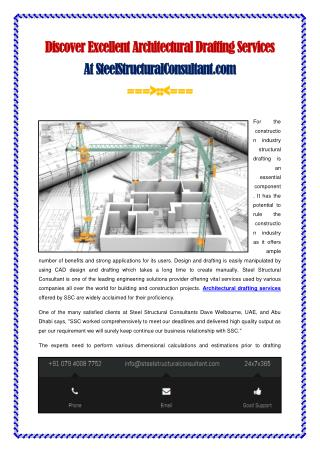 Discover Excellent Architectural Drafting Services