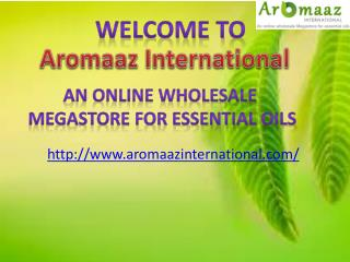 At Aromaazinternational.com, Buy Neroli Oils for Relaxed Mind and Body