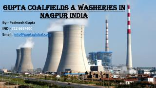 Gupta Coalfields & Washeries In Nagpur India