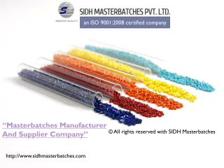 Masterbatches manufacturer in india, masterbatch supplier